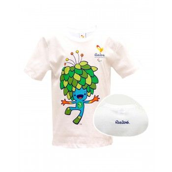 Camiseta Infantil Tom Pose Rio 2016