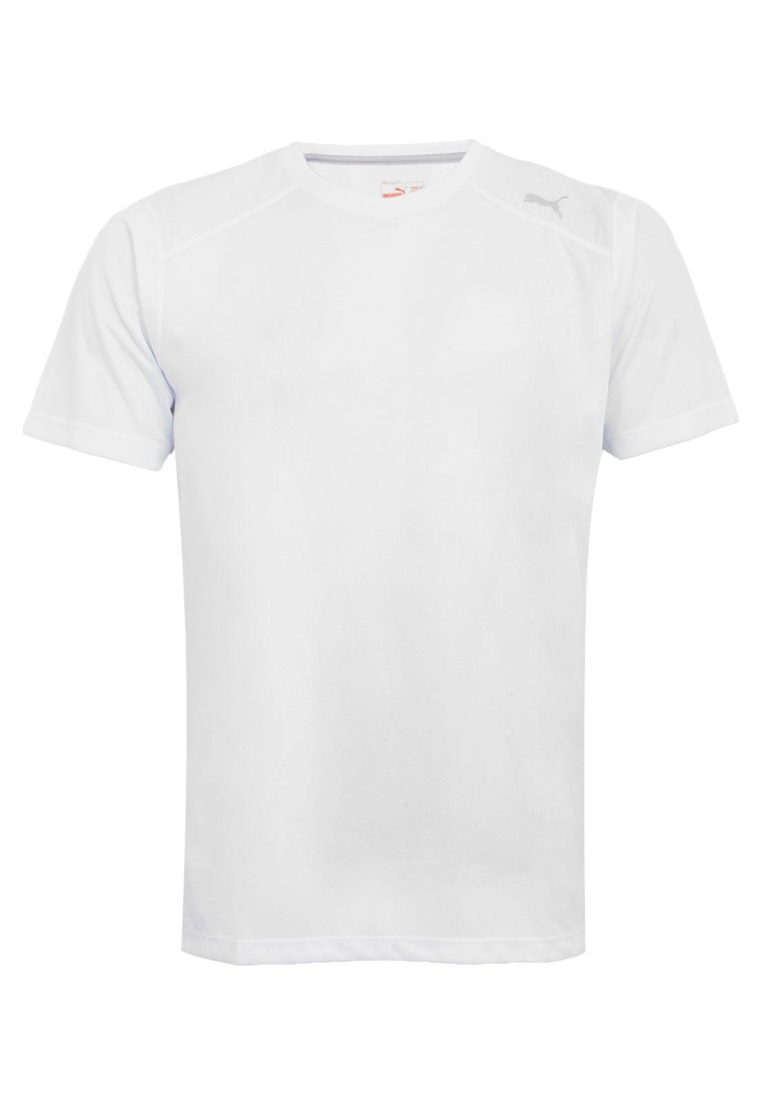 Camiseta Puma Dry Essential Branca Cód 513605 02