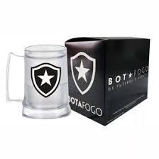 Caneca Gel Incolor Escudo Botafogo