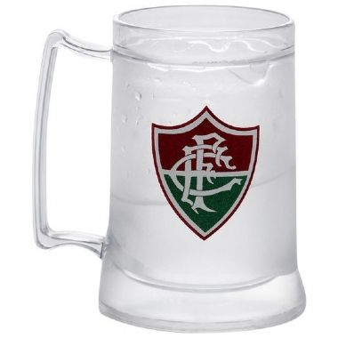 Caneca Gel Incolor Escudo Fluminense