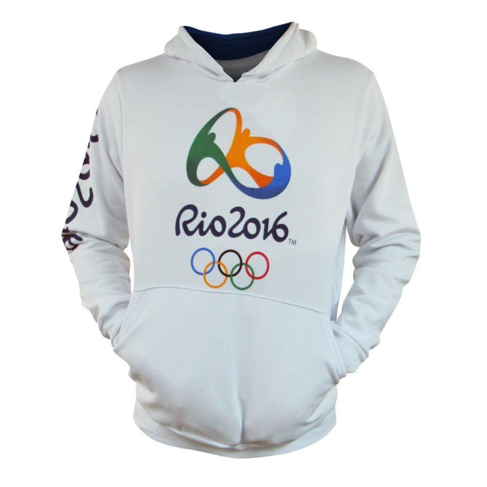 Casaco Olimpíadas Rio 2016 Moleton