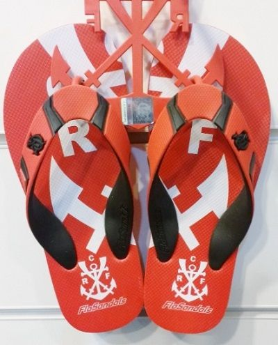 Chinelo Flamengo Escudeto Regatas Vermelho