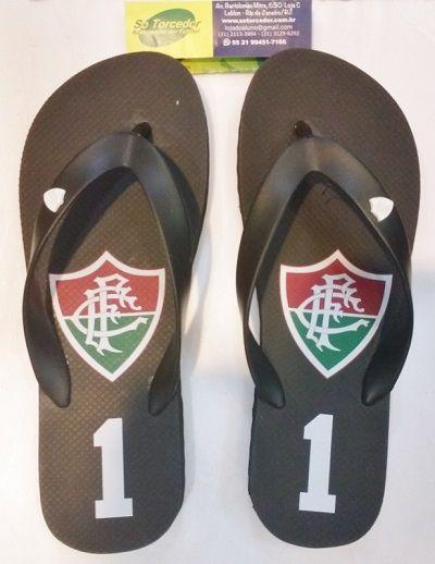 Chinelo Fluminense Felix Preto