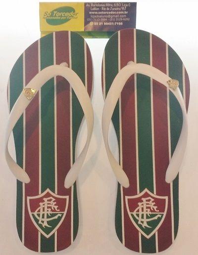 Chinelo Fluminense Manto Tricolor 1 Feminino