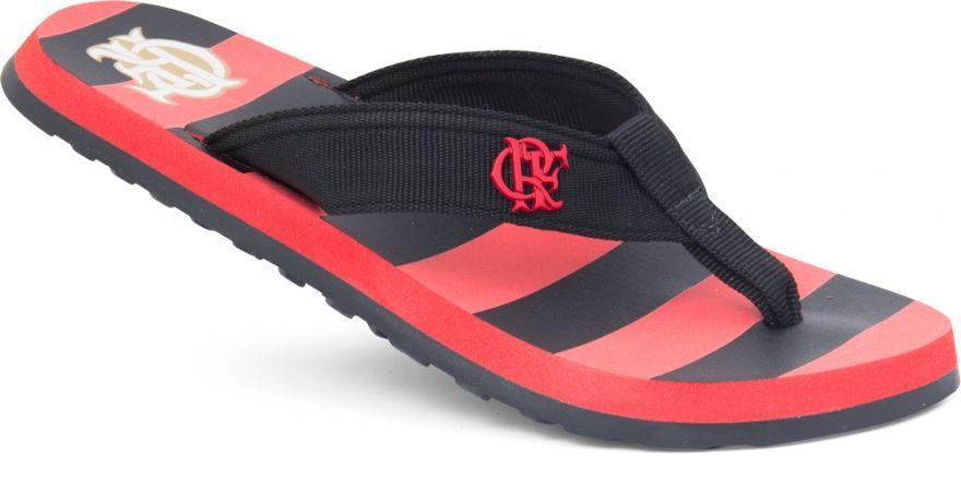 Chinelo Flamengo Surf Nylon Listrado Ref 010