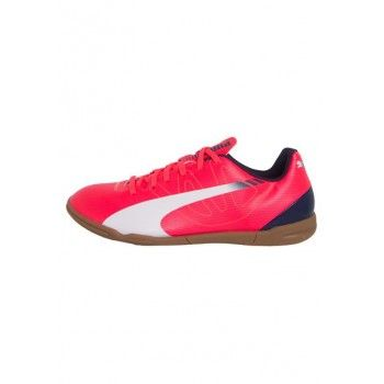 Chuteira Puma EvoSpeed 5.3 IT Jr Rosa