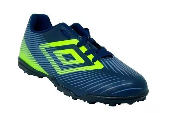 Chuteira Umbro Society Speed II Marinho-Lime
