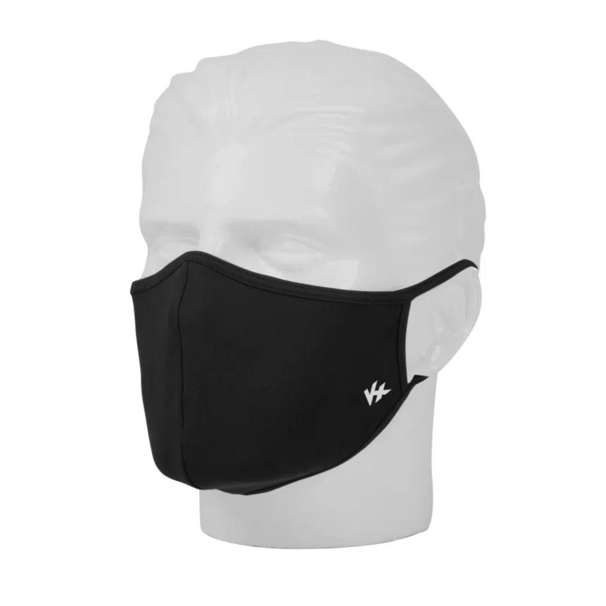 Mascara de uso Social Adulto Antiviral/ Anti Odor/ Proteção U.V. preto - 2 Unidade