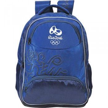 Mochila Bronze Olimpíadas Rio 2016 Azul