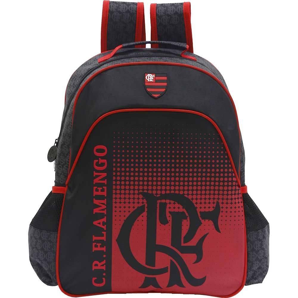 Mochila Infantil Flamengo Costas Grande - Ref: 8052