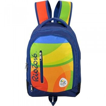 Mochila Olimpíadas Rio 2016 Azul Ref 60511