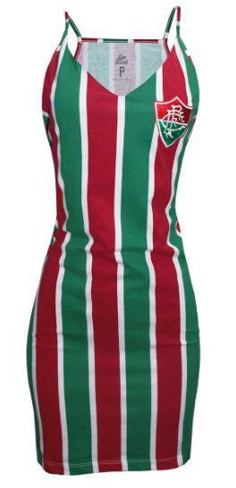 Vestido Fluminense Liga Retrô