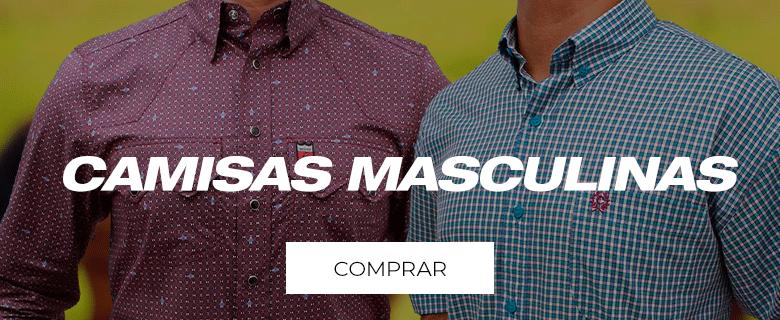 clique e confira nossas camisas masculinas!