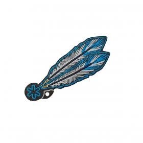 Adesivo Tuff Patch Pena Azul
