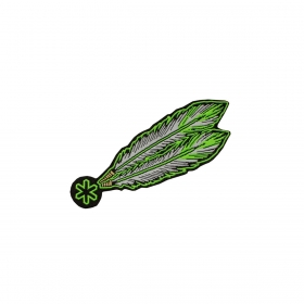 Adesivo Tuff Patch Pena Verde