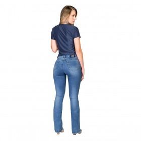 Baby Look Buphallos Jeans Nossa Senhora