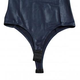 Body Selvagem Azul Marinho Regata