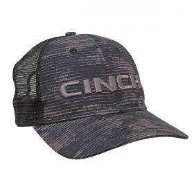 Boné Cinch Cinza Aba Curva