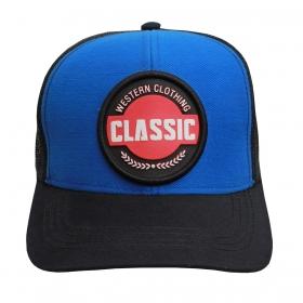 Boné Classic Azul Aba Preta