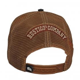 Boné Rustico Company Preto Três Tambores