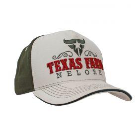 Boné Texas Farm Bege