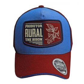 Boné Texas Farm Produtor Rural Azul