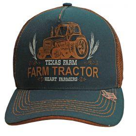 Boné Texas Farm Verde De Tela