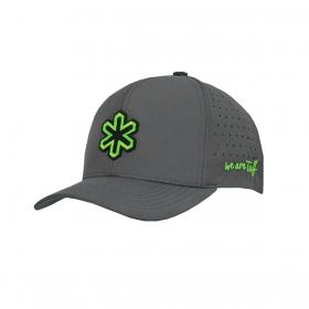 Boné Tuff Cinza Logo Verde