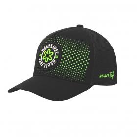 Boné Tuff Monster Preto Logo Verde