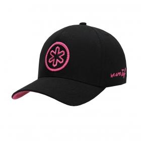 Boné Tuff Preto Logo Pink
