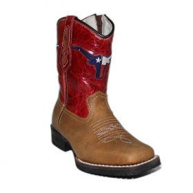 Bota Vimar Boots Infantil Caramelo Red