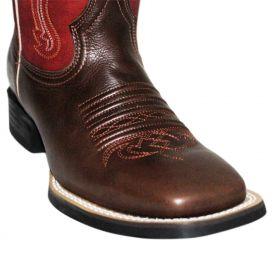 Bota Vimar Boots Masculina Brown Red