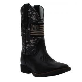 Bota Vimar Boots Masculina Preta Bandeira