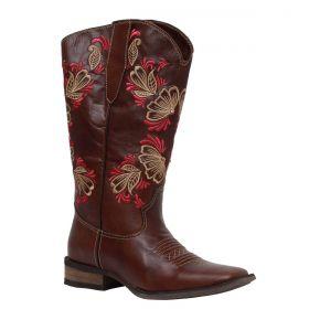 Bota Vimar Boots Feminina Cano Dobrável