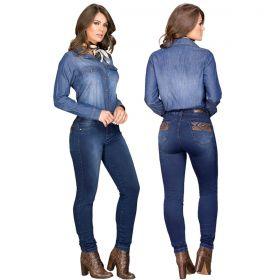 Calça Buphallos Feminina Skinny Boot Cut