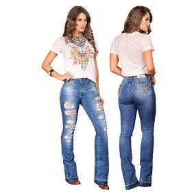 Calça Buphallos Jeans Boot Premium