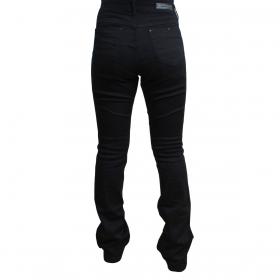 Calça Buphallos Jeans Flare Básica Preta