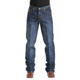 Calça Cinch Masculina Black Dark Stonewash