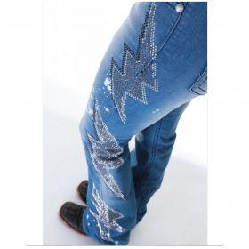 Calça Jeans Feminina David Bowie Zenz
