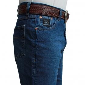 Calça Jeans Indian Farm Masculina Black
