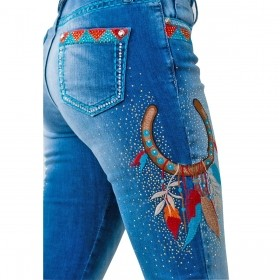 Calça Miss Country Jeans Kansas