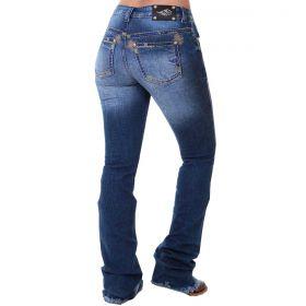 Calça Zenz Western Feminina Jeans Selvagem