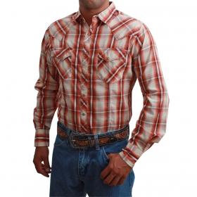 Camisa Masculina Importada Wrangler Laranja
