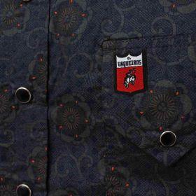Camisa Os Vaqueiros Masculina Chumbo Manga Longa