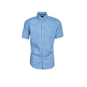 Camisa Tuff Manga Curta Xadrez Azul e Verde