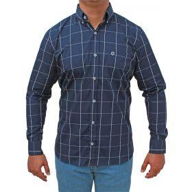 Camisa Tuff Manga Longa Masculina Azul Marinho