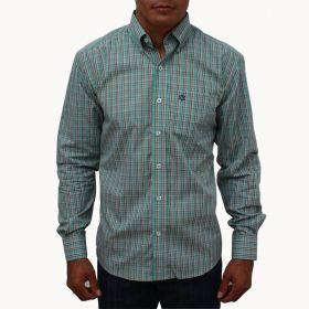 Camisa Tuff Masculina Manga Longa Verde Água