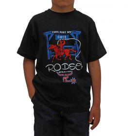 Camiseta 2K Jeans Infantil Preta Rodeo