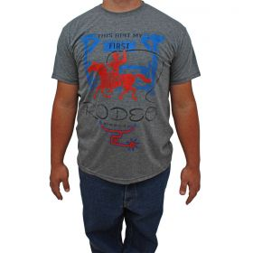 Camiseta 2K Jeans Masculina Cinza Rodeo