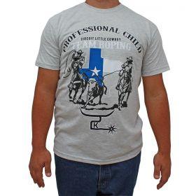 Camiseta 2K Jeans Masculina Cinza Team Roping
